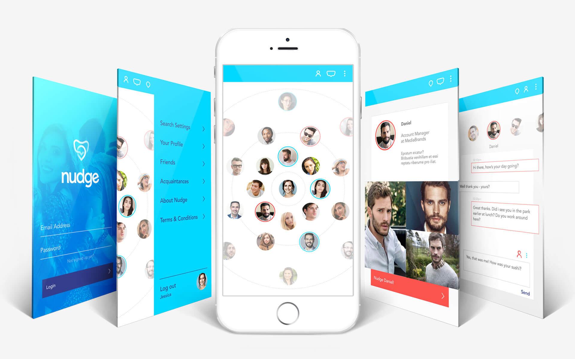 Nudge App UX Design