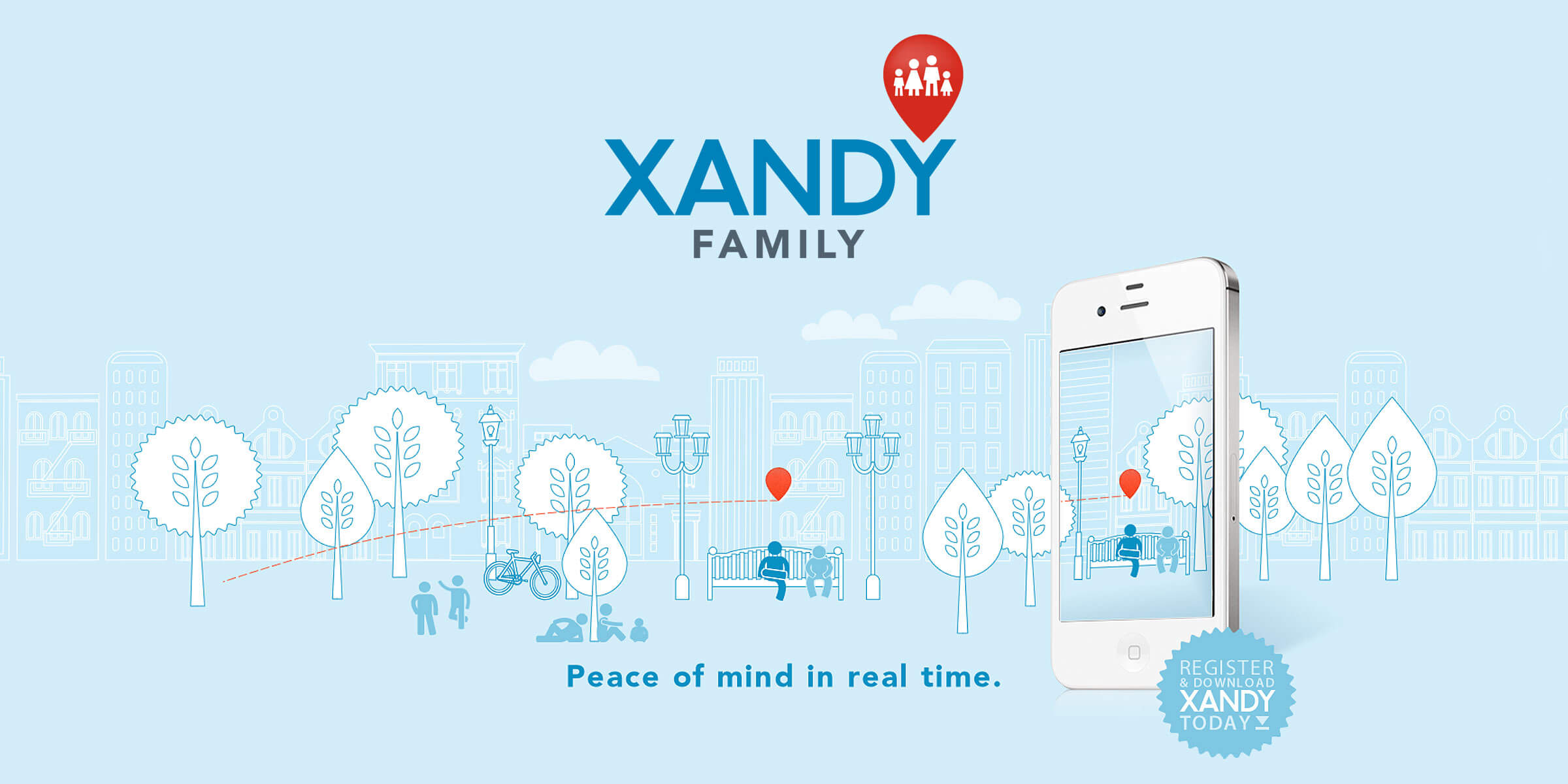 A fun, friendly identity for location app XandY
