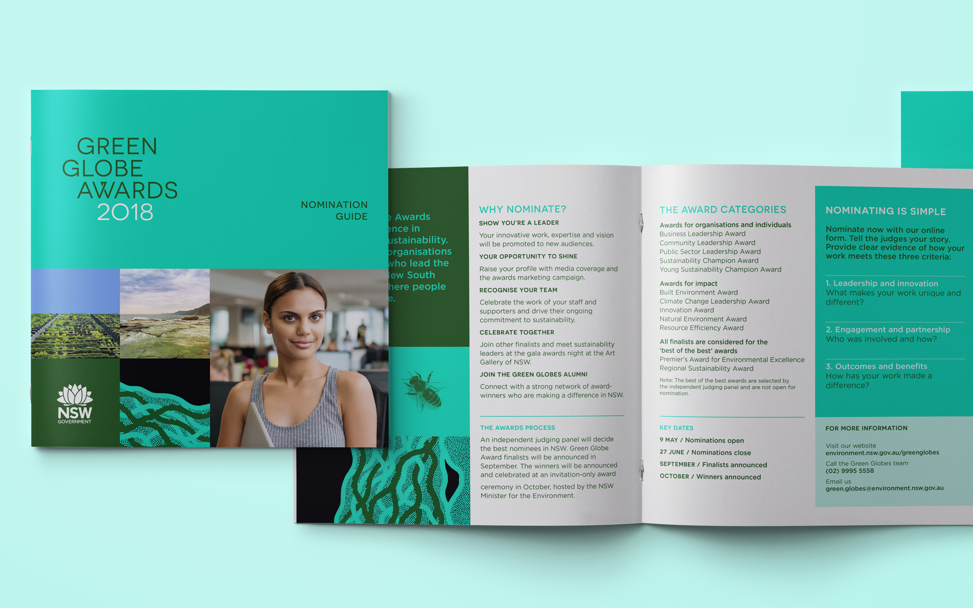 The Green Globe Awards rebrand nomination guide