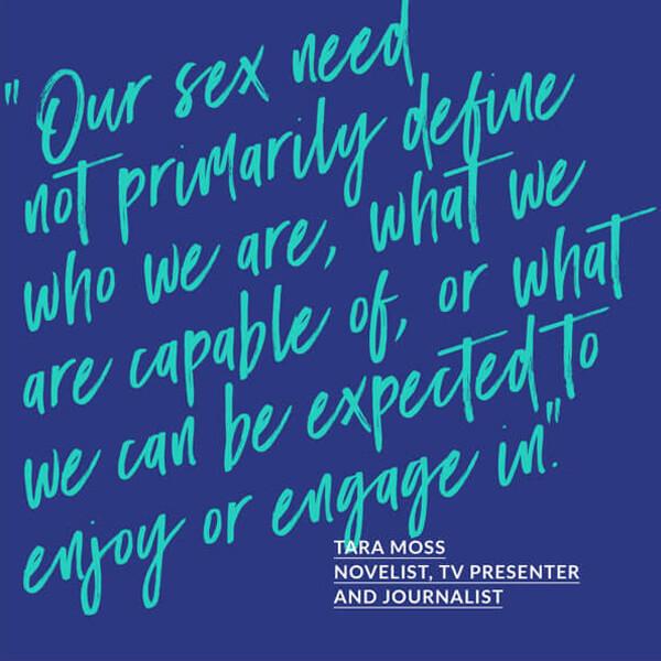 Breakthrough social media images: Tara Moss quote.