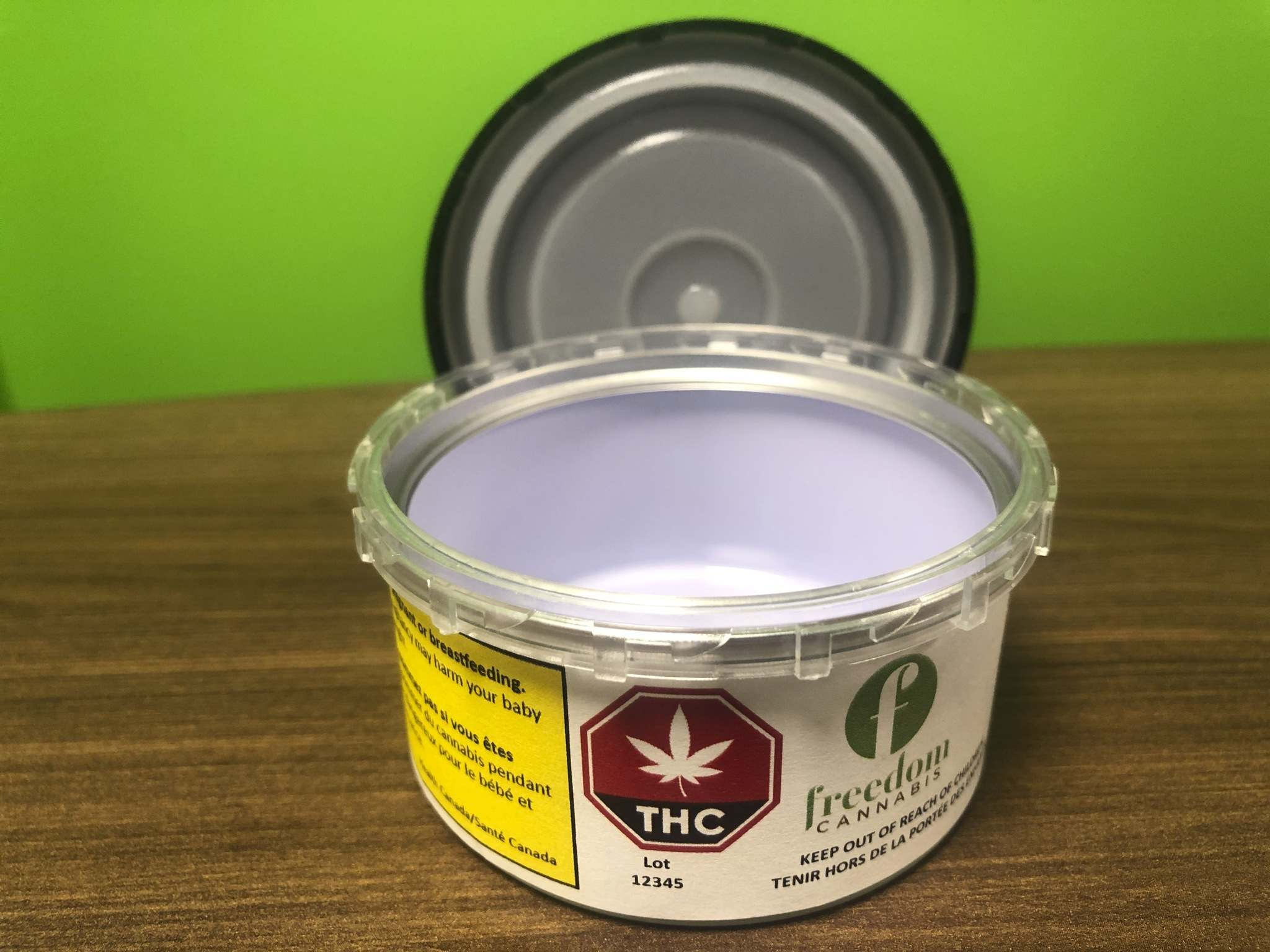 A recyclable steel tin package from Freedom Cannabis. (Supplied)</p>