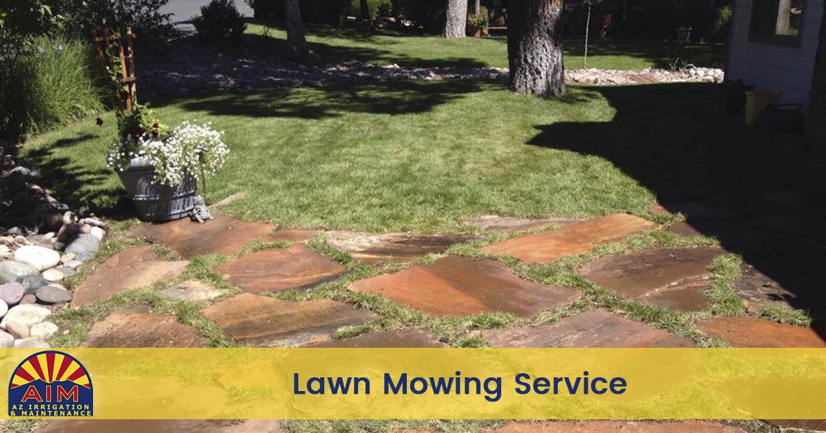 Lawn Mowing Service in Flagstaff and Sedona AZ