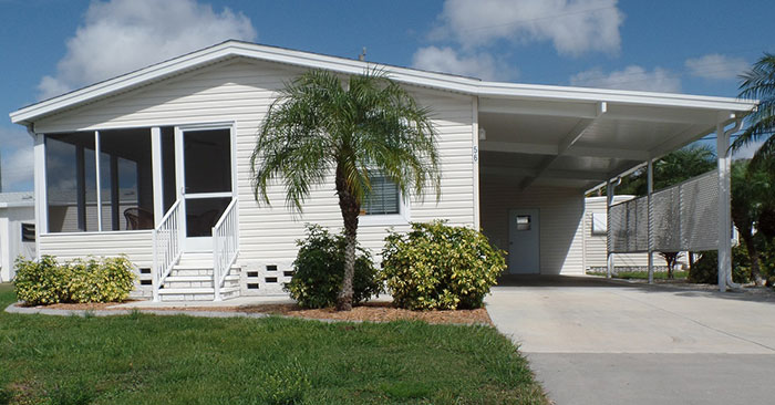 Sarasota mobile home for rent