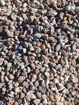 Arizona pea gravel 3/8