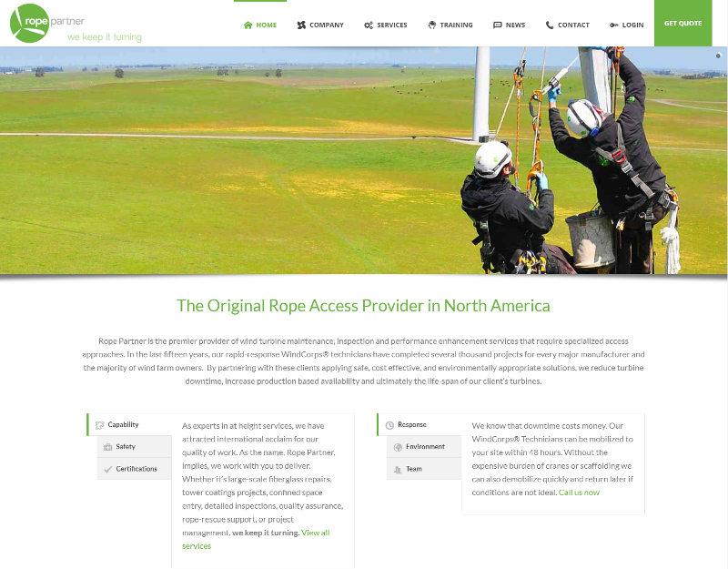 Life Names Business Websites - Rope Partner