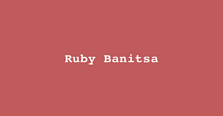 Ruby Banitsa - Wednesday, 26th of September