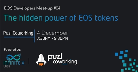 EOS Developers Meet-up #04 - The hidden power of EOS tokens