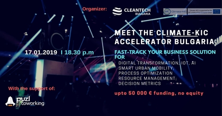 Meet the Climate-KIC Accelerator Bulgaria