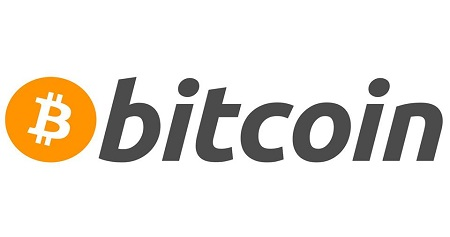 The image shows the bitcoin sign.