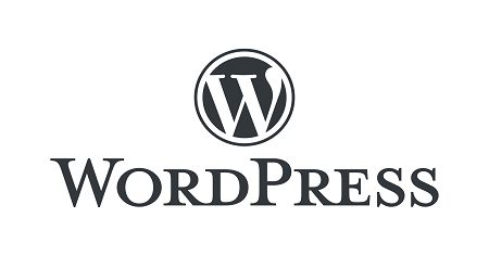 The image shows the logo of Wordpress.