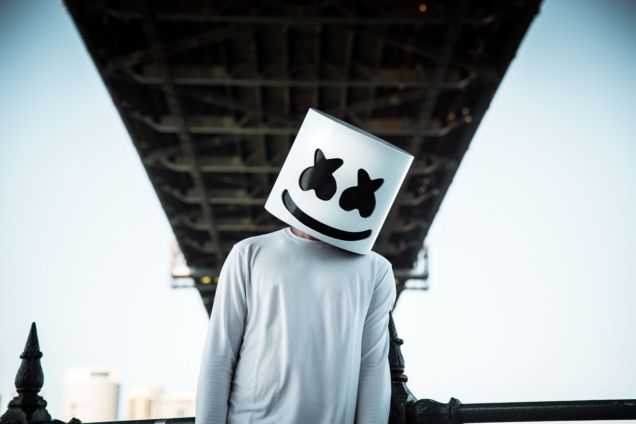 Marshmello - artisten uten ansikt headliner Kadetten!