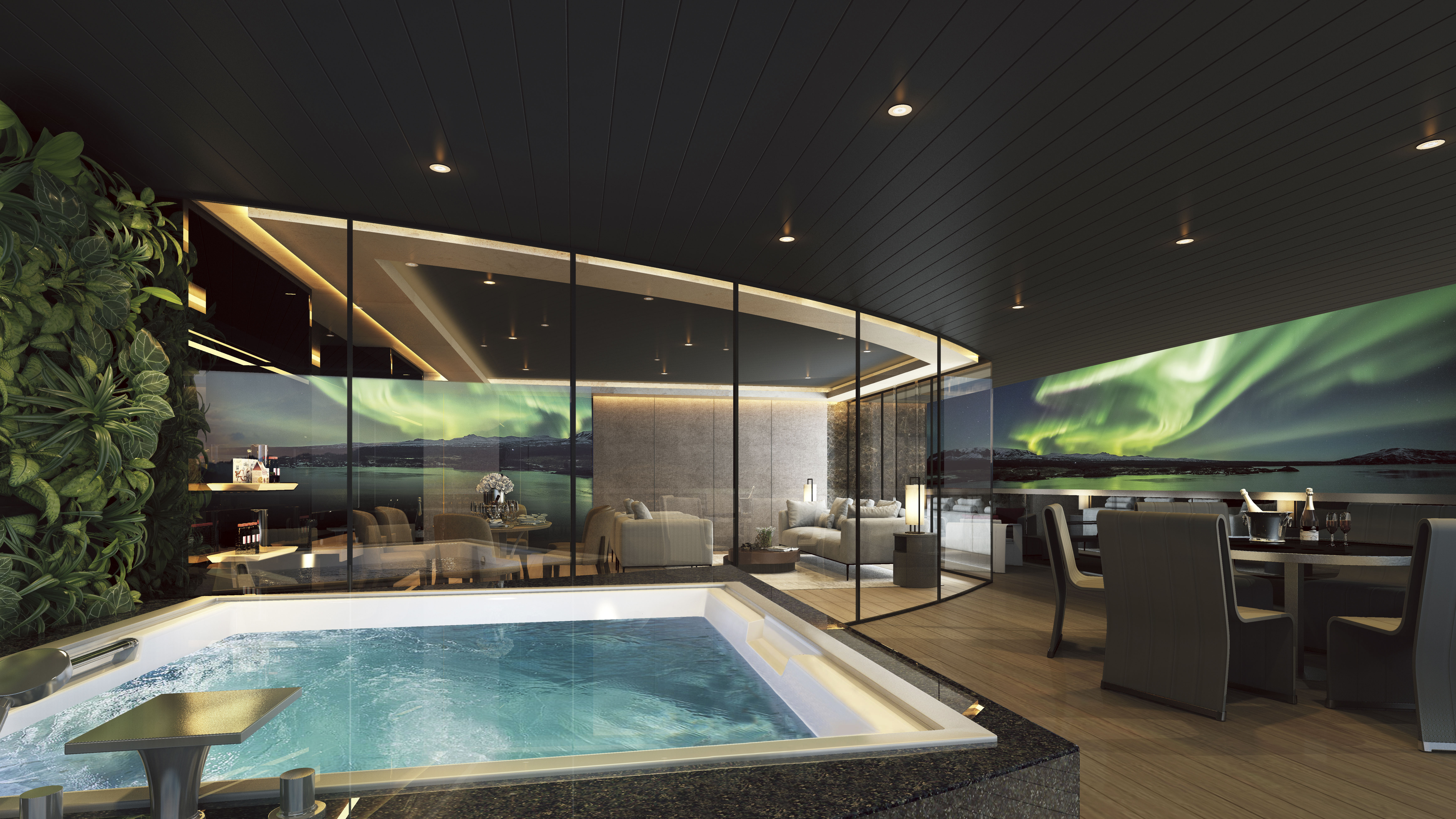 Scenic Eclipse - Owners Penthouse Suite Terrasse