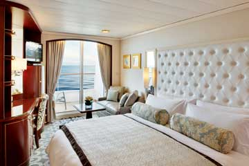 Crystal Serenity - Deluxe Stateroom with Verandah