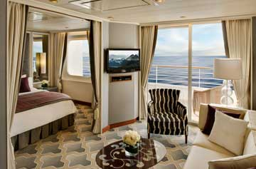 Crystal Symphony - Penthouse Suite with Verandah