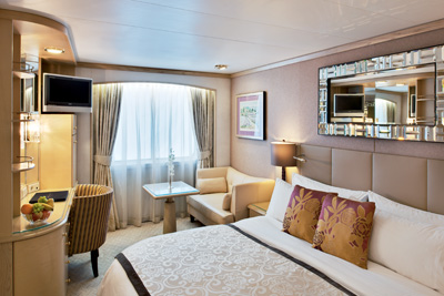 Crystal Symphony - Deluxe Stateroom with Large Picture Window