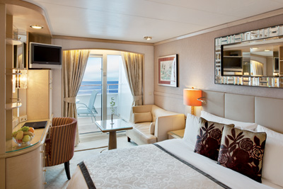 Crystal Symphony - Deluxe Stateroom with Verandah