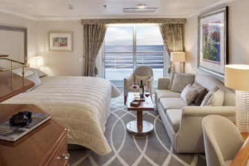 Crystal Symphony - Penthouse with Verandah