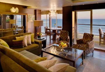 Crystal Symphony - Crystal Penthouse with Verandah
