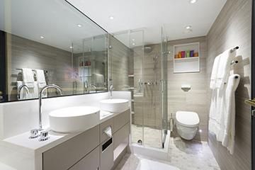 Crystal Mozart - Penthouse Badezimmer