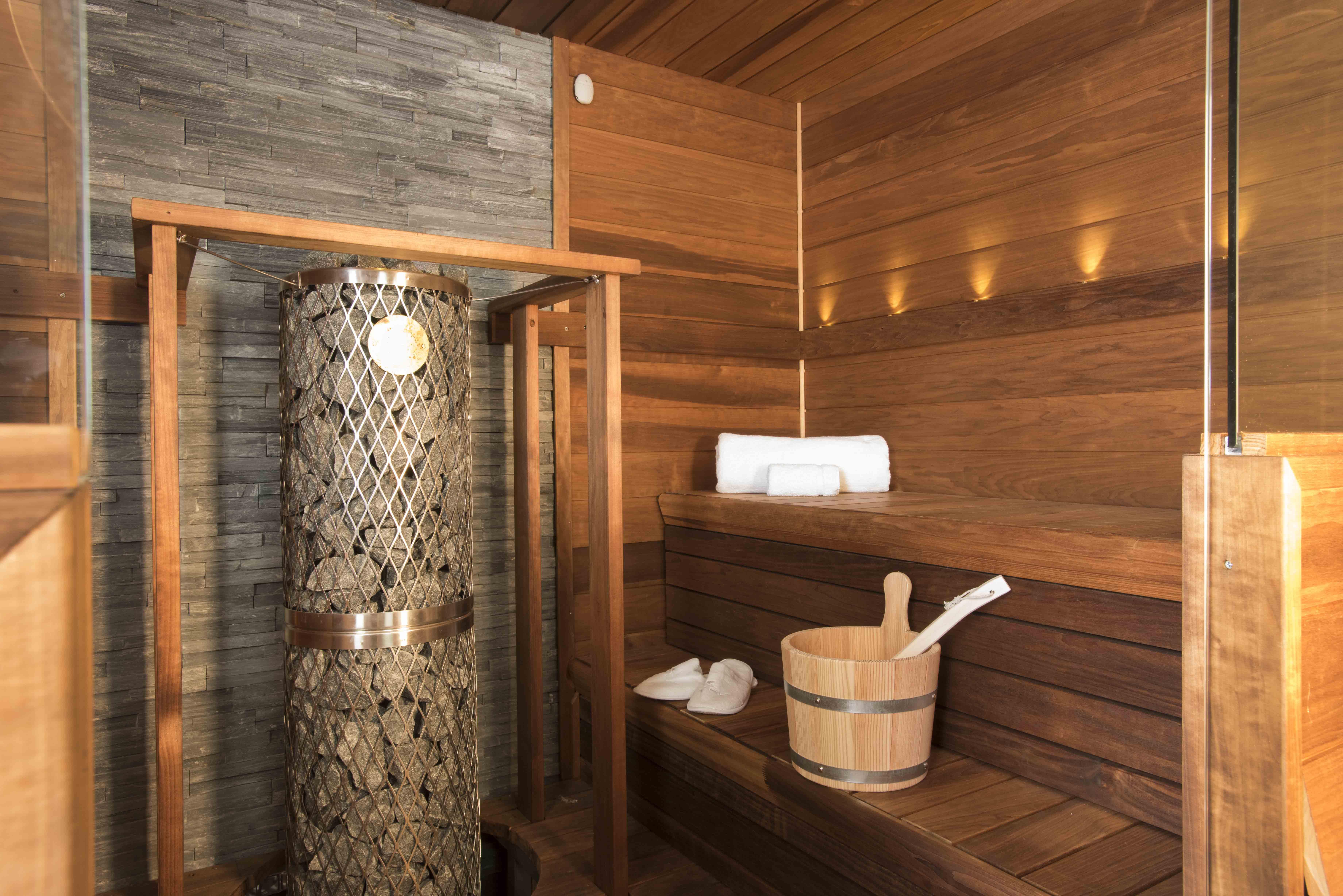 Crystal Esprit - Sauna