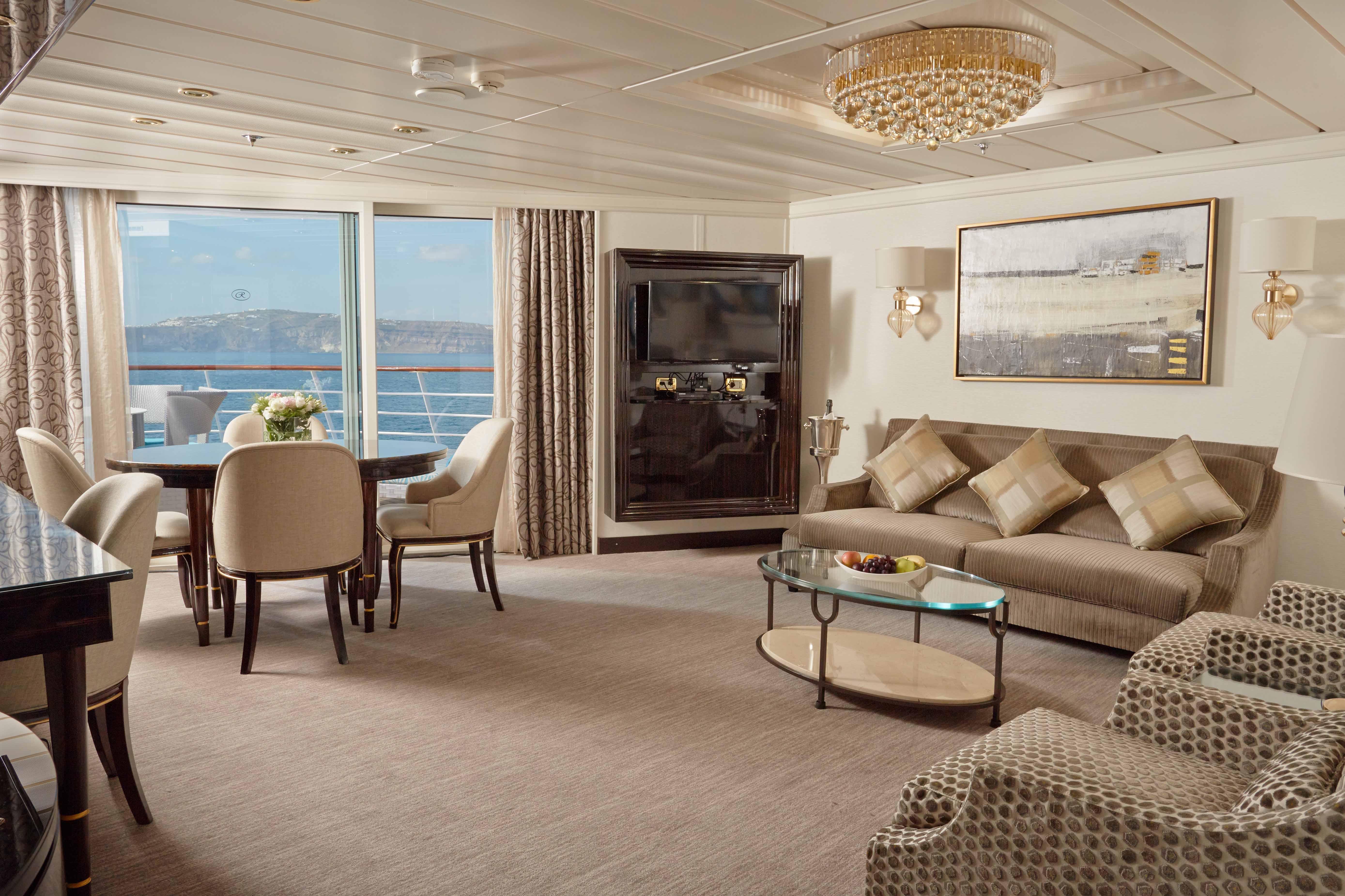Seven Seas Mariner - Seven Seas Suite (Wohnbereich)