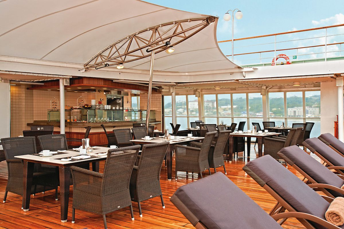 Silversea - Silver Cloud Expedition - Le Grill