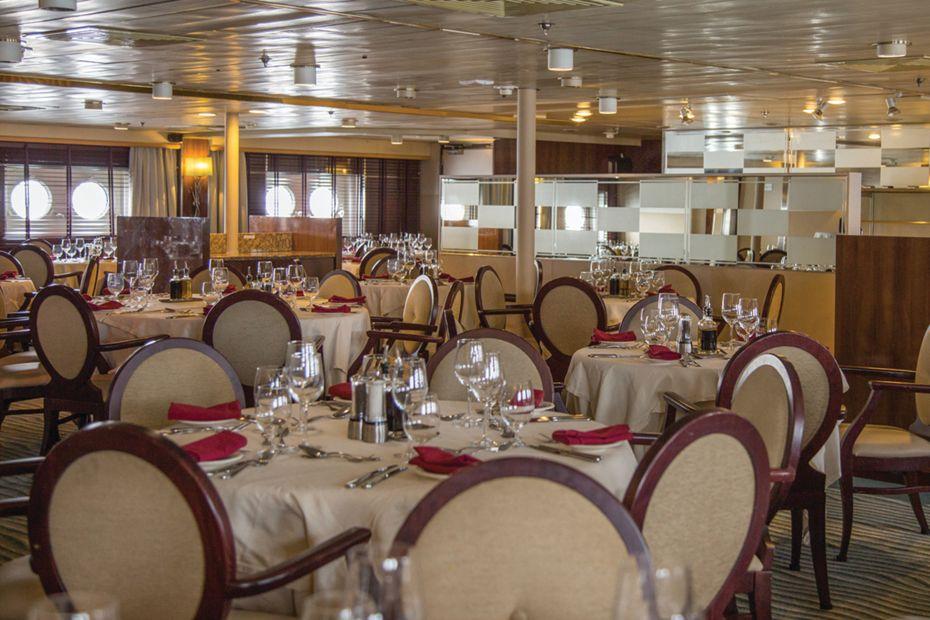 Silversea - Silver Discoverer - The Restaurant