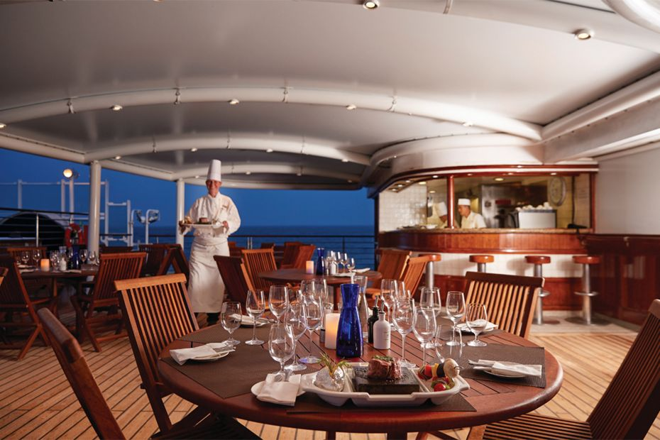 Silversea - Silver Explorer - The Grill
