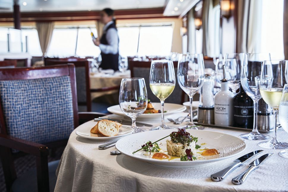 Silversea - Silver Explorer - The Restaurant