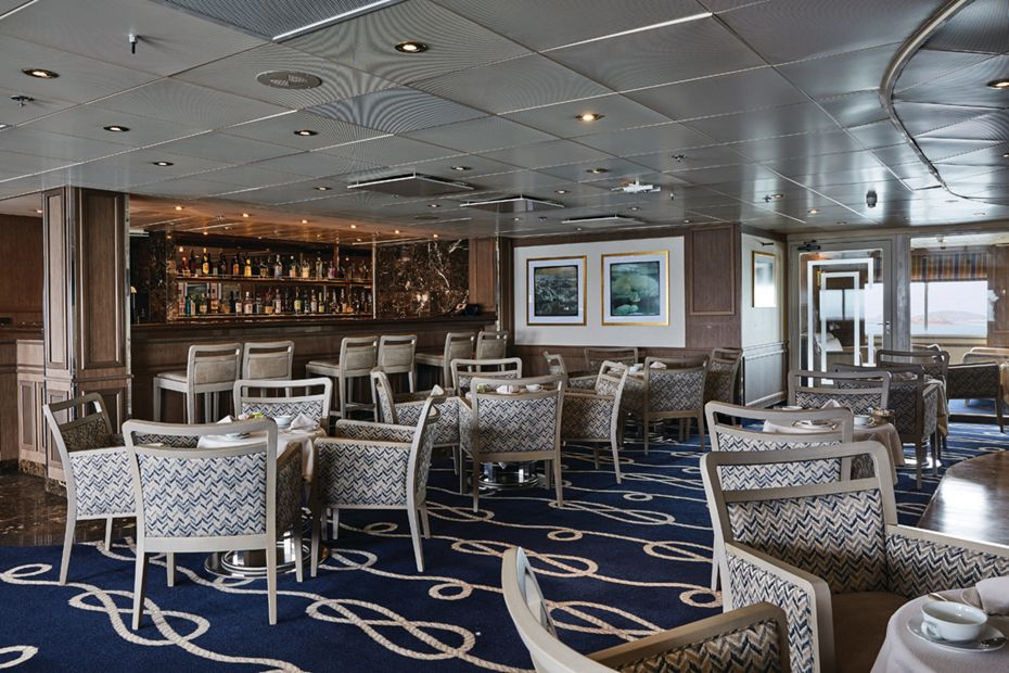 Silversea - Silver Explorer - Panorama Lounge