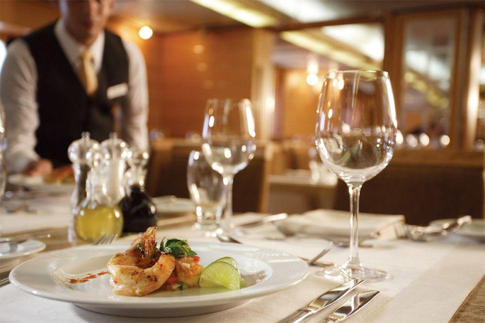Silversea - Silver Galapagos - The Restaurant