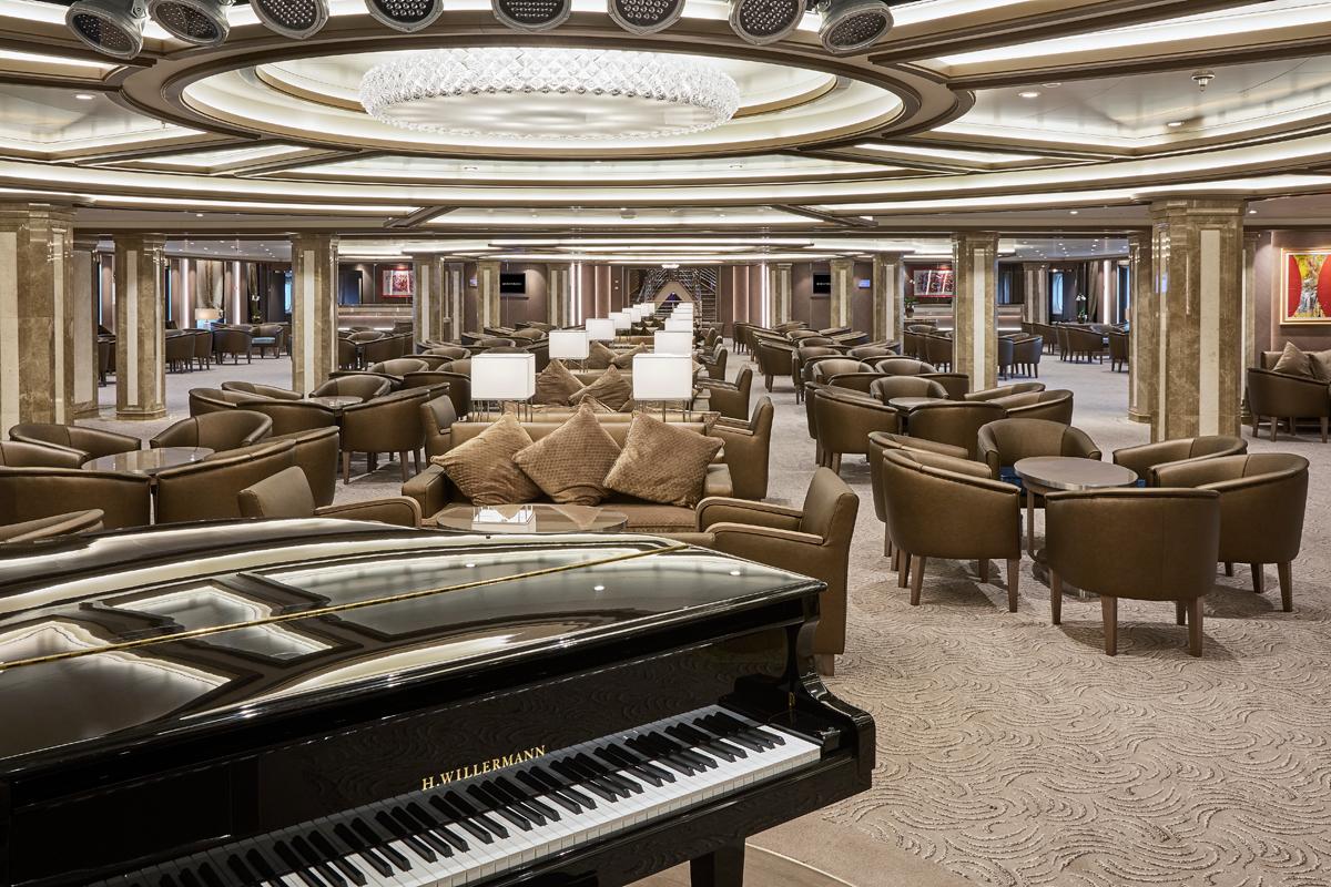Silversea - Silver Muse - La Dolce Vita Lounge