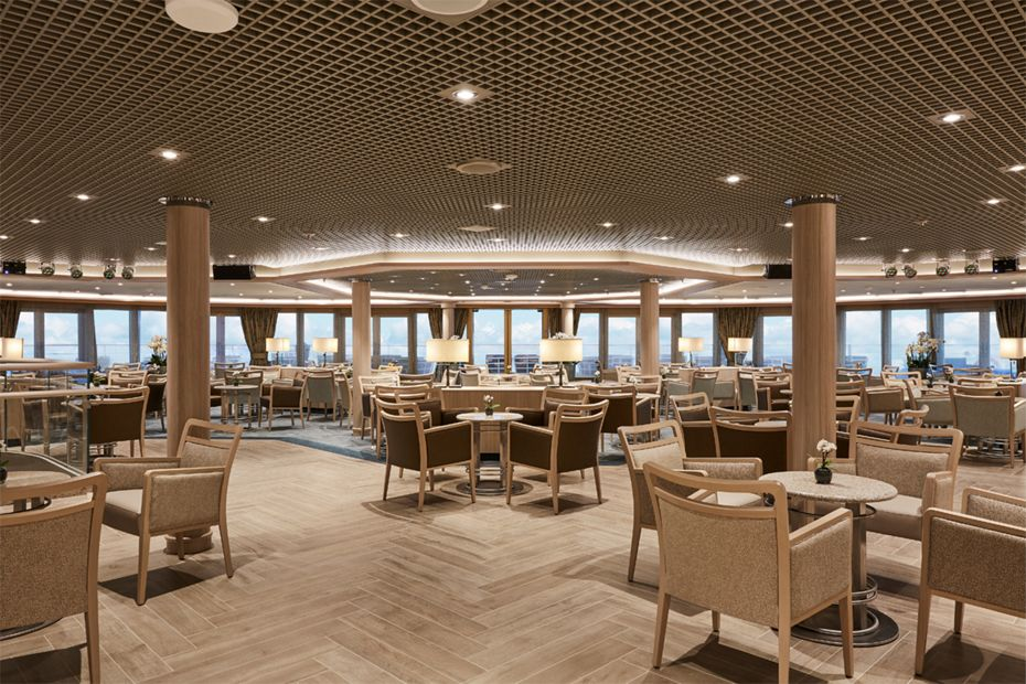 Silversea - Silver Muse - Panorama Lounge