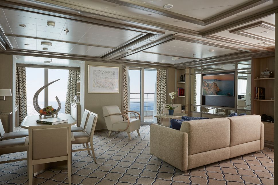 Silversea - Silver Muse - Owners Suite