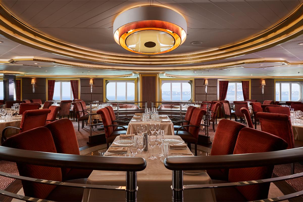 Silversea - Silver Muse - Atlantide Restaurant