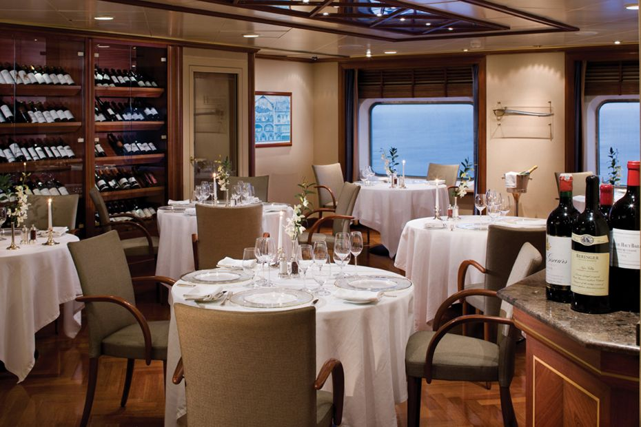 Silversea - Silver Shadow - La Dame by Relais & Chateaux