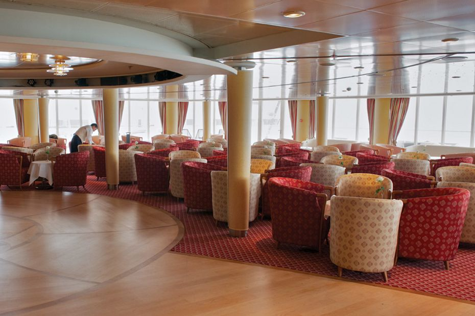 Silversea - Silver Shadow - Panorama Lounge