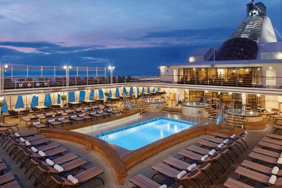 Silversea - Silver Spirit - Pool Deck