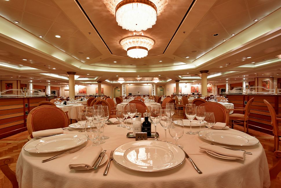 Silversea - Silver Whisper - The Restaurant
