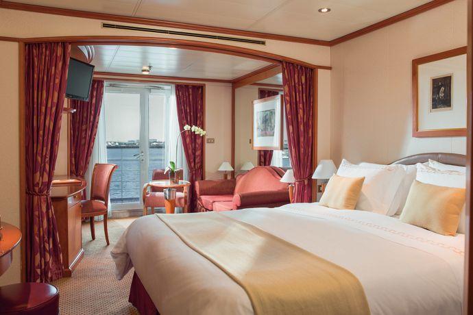Silversea - Silver Whisper - Terrace Suite