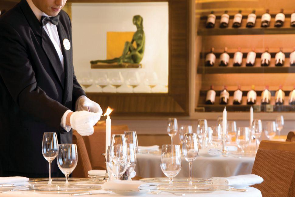 Silversea - Silver Wind - La Dame Restaurant