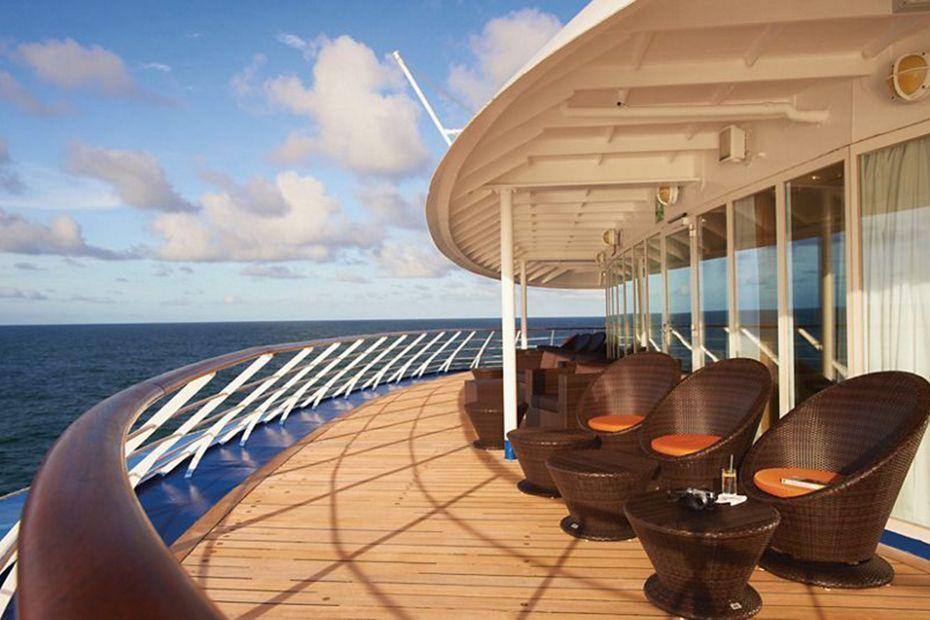 Silversea - Silver Wind - Panorama Lounge Außenbereich