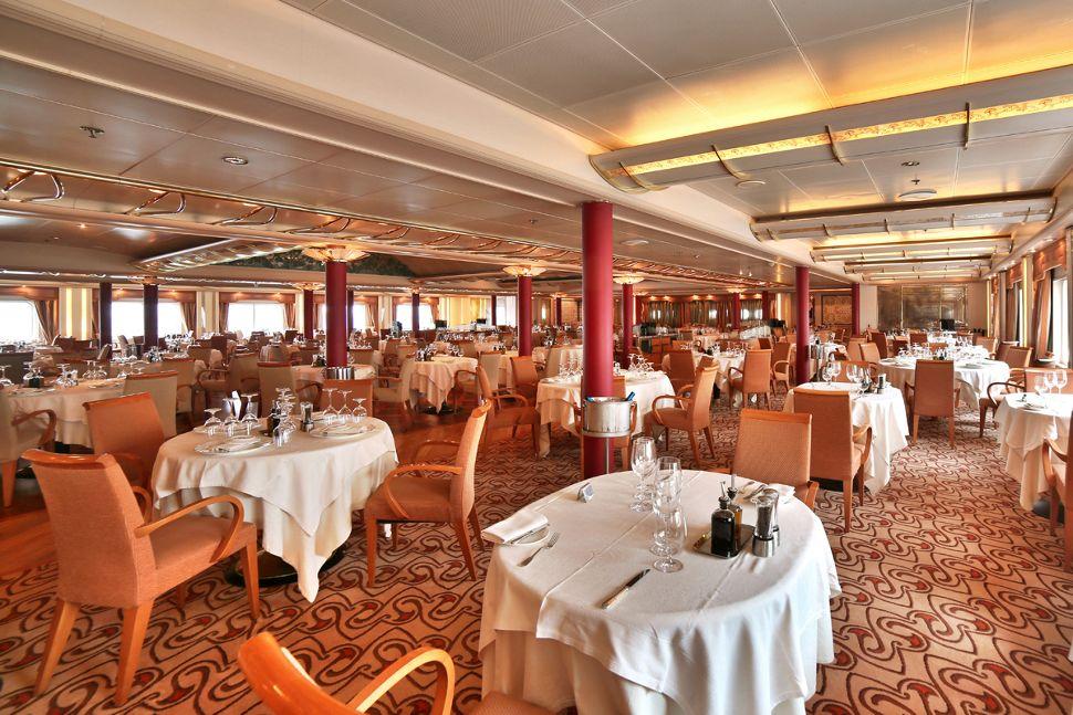 Silversea - Silver Wind - The Restaurant