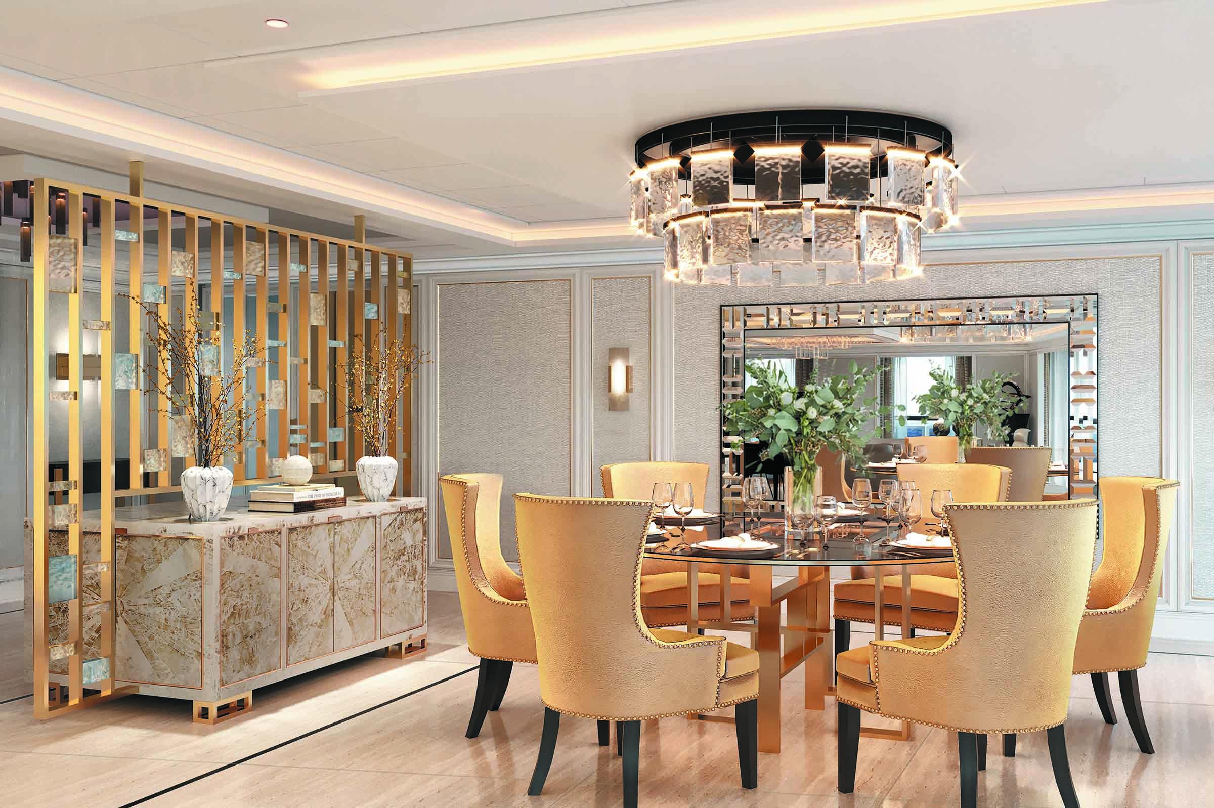 Seven Seas Splendor - Esszimmer Regent Suite