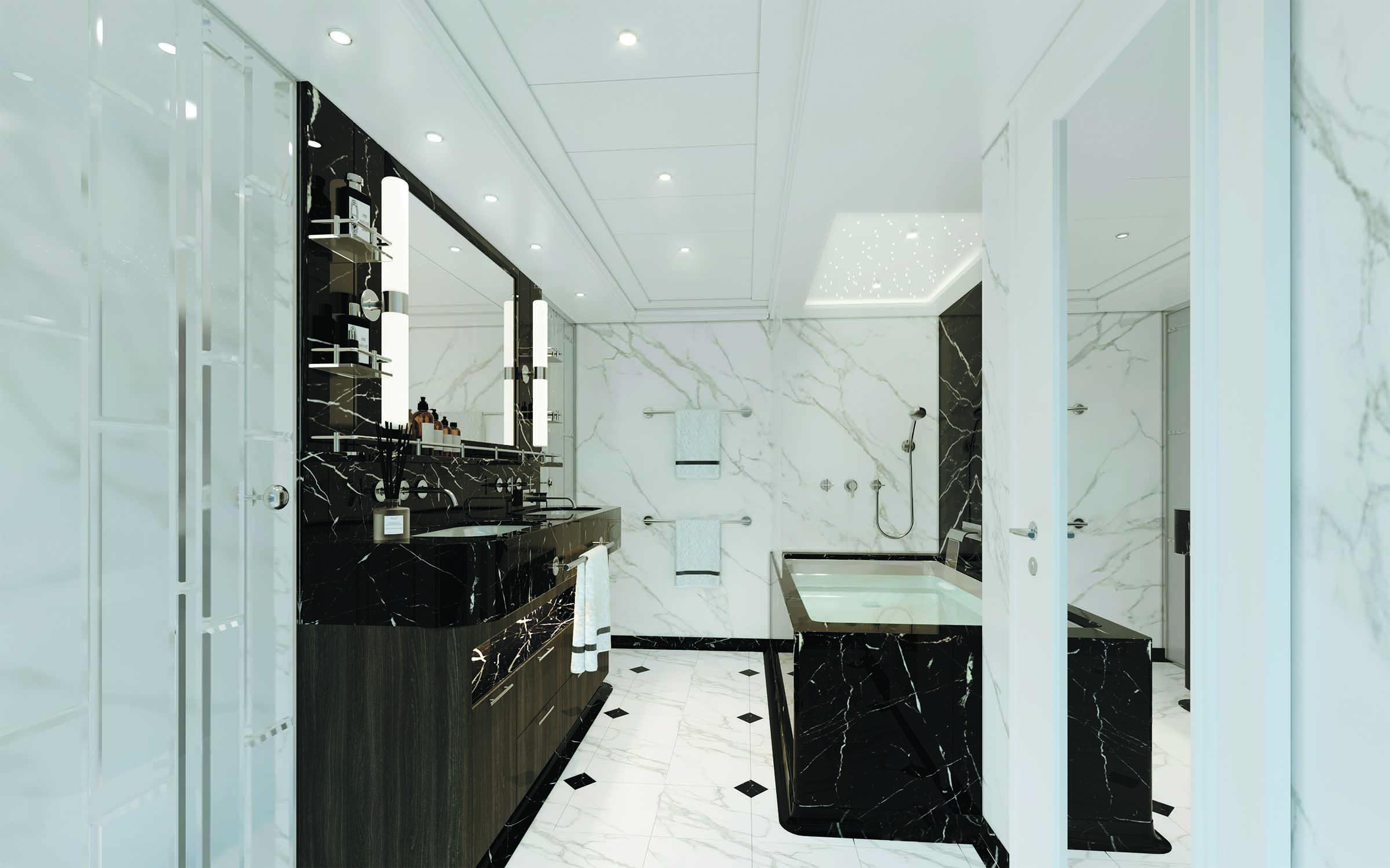 Seven Seas Splendor - Badezimmer Master Suite
