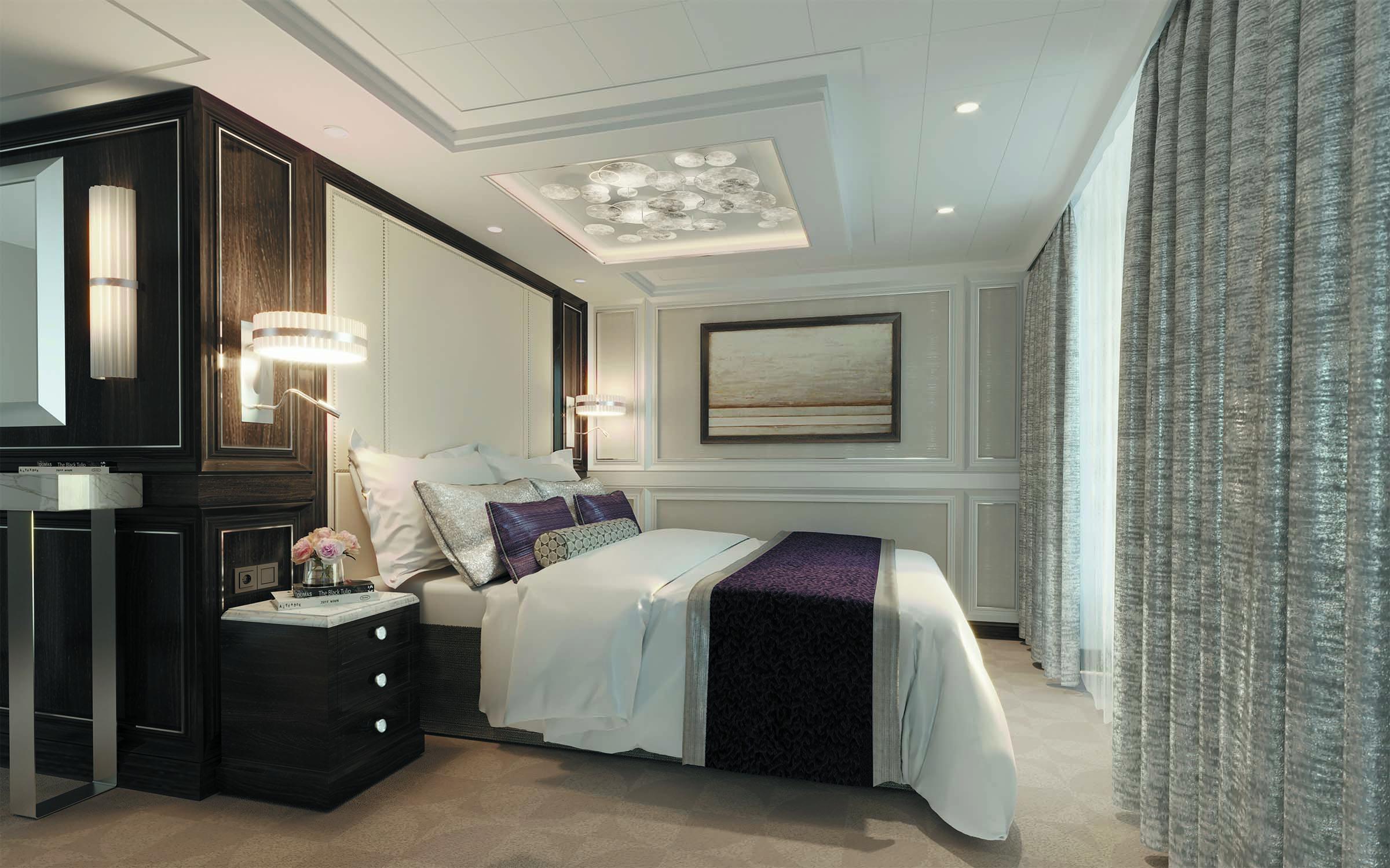 Seven Seas Splendor - Schlafzimmer Master Suite