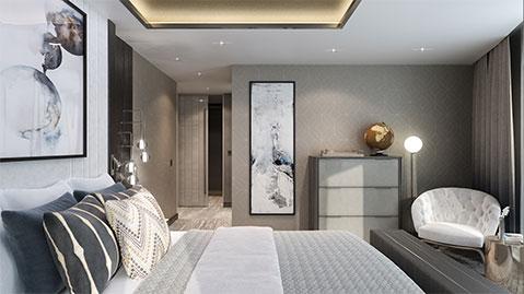 Crystal Endeavor - Crystal-Penthouse-Suite-SB-Bedroom