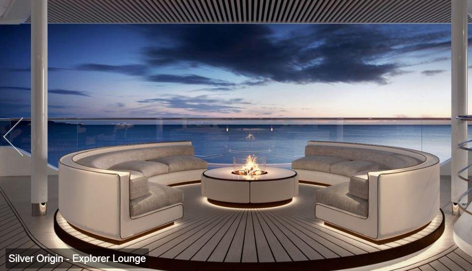 Silversea - Silver Origin - Explorer Lounge Center