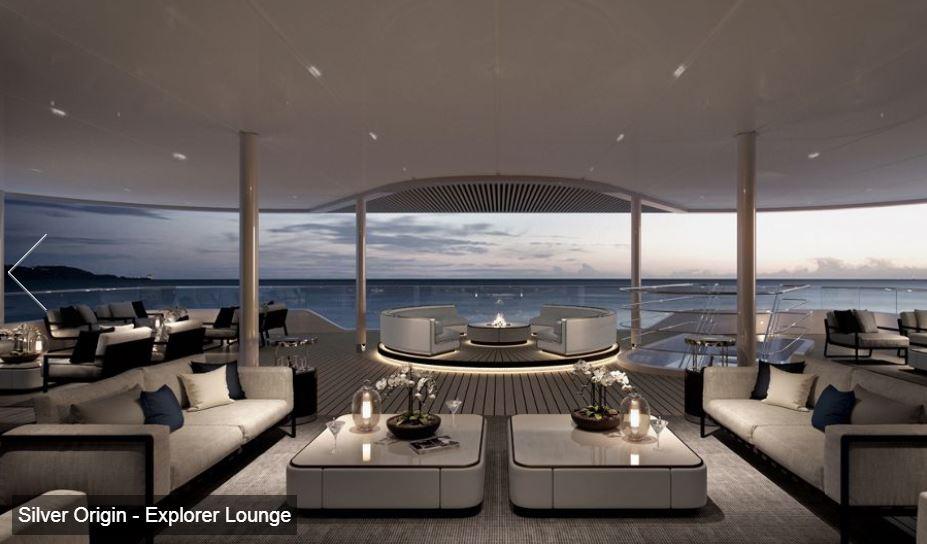 Silversea - Silver Origin - Explorer Lounge