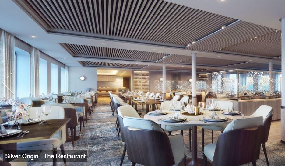 Silversea - Silver Origin - The Restaurant